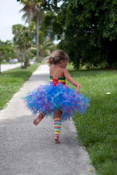rainbow brite   love this tutu for bella