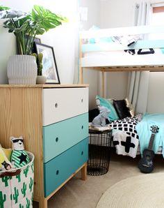 IKEA Mydal Bunk Bed Hack - kids bedroom ideas
