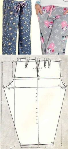 Amazing Sewing Patterns Clone Your Clothes Ideas. Enchanting Sewing Patterns Clone Your Clothes Ideas. Dress Sewing Patterns, Sewing Patterns Free, Sewing Tutorials, Clothing Patterns, Sewing Projects, Free Pattern, Pants Pattern Free, Pajama Pattern, Sewing Diy