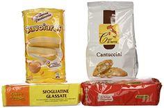 Traditional VittleItaly: Cookie Set of Italian Specialties! (Amaretti, Cantuccini, Savoiardi, Sfogliatine Glassate) , ,