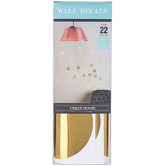 Get Gold Polka Dot Wall Decals online or find other Vinyl Wall Decals products from HobbyLobby.com