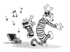 Calvin & Hobbes...so lovely and simple