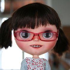 Updates from Blytheofmine on Etsy Barbie, Gothic Dolls, Living Dolls, Pretty Dolls, Custom Dolls, Doll Face, Mannequins, Blythe Dolls, Art Dolls
