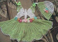 Free Patterns: wonderful crochet butterfly dress with graph Beau Crochet, Baby Girl Crochet, Crochet Baby Clothes, Crochet For Kids, Knit Crochet, Crochet Dresses, Crochet Chart, Crochet Butterfly Pattern, Crochet Baby Dress Pattern