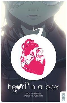 Heart in a box, un comics de Kelly Thomson et Meredith McLaren (Glénat Comics)