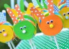 bunny lollipops