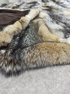 Shades Of Gold, Color Shades, Grey Fox, Fur Blanket, Fur Throw, Getting Out Of Bed, Blanket Sizes, Bedspreads, Fox Fur
