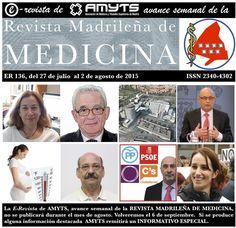 NO TE PIERDAS el Nº 136 de la E-Revista de AMYTS, del 27 de julio de al 2 de agosto de 2015.  http://amyts.es/e_revista/