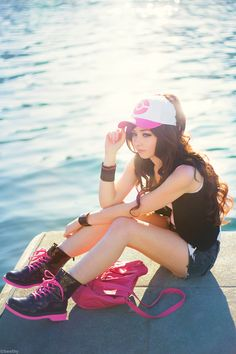 Hilda Pokemon Cosplay http://geekxgirls.com/article.php?ID=1505