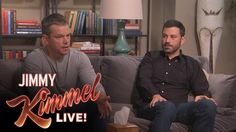 Matt Damon and Jimmy Kimmel go to Couples Therapy :   		Jimmy Kimmel Live - 9/28/15