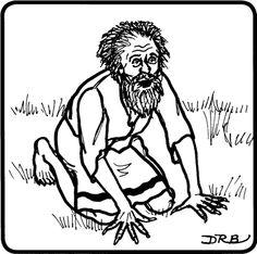 nebuchadnezzars dream coloring pages - photo#22
