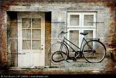 e15abe0545cad Picture of Old House And Old Bike Vintage Style. Stock Photo by Yuri Arcurs  from the collection Hemera. Get affordable Stock Photos at Thinkstock Au.