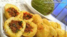 El Chef Edgardo Noel nos comparte esta receta de Rellenos de Pana, que están como para chuparse los dedos. Otra mas para tu colección de platos con pana.
