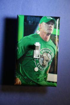 John Cena WWE Light Switch Cover Plate Wrestling boys girls bedroom room decor