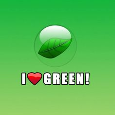 Love #green ? #eco