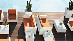 Outdoor furniture Contemporary Italian Furniture available through Selene www.selenefurniture.com