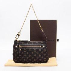 Louis Vuitton Mini Pochette Accessoires Monogram Idylle Handle bags Brown Canvas…