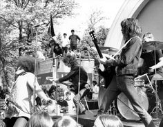 at Summer Outdoor Free Concert Series in West Park Bandshell, Ann Arbor, Michigan, photographed by Leni Sinclair in Hard Rock, Heavy Metal, Rock And Roll, Five For Fighting, Jazz, Rock Anthems, Blues, The Lost World, One Wave