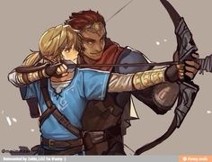 Link and Ganon? ? / iFunny :)