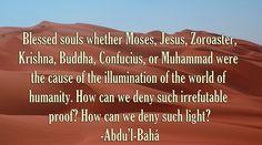 Baha'i quote by Abdu'l-Baha.