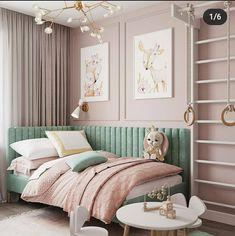 Room Interior Design, Home Room Design, Kids Room Design, Baby Room Decor, Home Decor Bedroom, Kids Bedroom Designs, Bedroom Layouts, Cozy Room, Girl Room