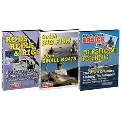 Bennett DVD - Fishing Success DVD Set w/Rods, Reels & Rigs, Catch Big Fish From Small Boats & Basics: Offshore Fishing - https://www.boatpartsforless.com/shop/bennett-dvd-fishing-success-dvd-set-wrods-reels-rigs-catch-big-fish-from-small-boats-basics-offshore-fishing/