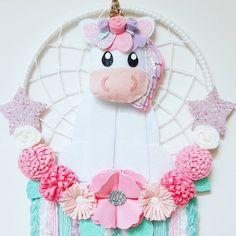 Unicorn Dream Catcher Custom spots available https://www.etsy.com/au/shop/enchantedfeltshop $60 plus $12 Postage Australia wide 250mm hoop . . . . . #unicorn #unicorndecor #iloveunicorns #unicornlover #girlsdecor #dreamcatcher #dreamcatchers #feltflowers #felt #australianhandmade #etsyau #girlsroom #babyshowergift #nursery #girlsroomdecor #kidsdeco #etsy #etsysellerofinstagram #etsyshop #unicornlove #cuteunicorn #pretty # cute
