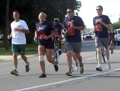 Abby Tabor/Staff The Annual Law Enforcement Torch Run was held Thursday in Lafourche and Terrebonne Parishes.
