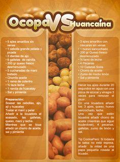 Prueba estas típicas salsas peruanas; Ocopa y Huancaína ;) Have you ever tried Ocopa or Huancaína sauce? This is your only chance!