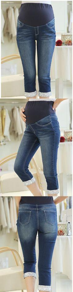 #Pantalones #demin de maternidad. Encuéntralos en nuestro sitio.