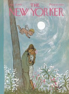 The New Yorker - Saturday, June 19, 1965 - Issue # 2105 - Vol. 41 - N° 18 - Cover by : William Steig