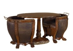 Picture of Maitland-Smith - Aged Regency Finish Occasional Table