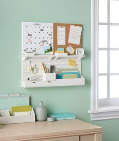 MARTHA MOMENTS: New: Wall-Managers From Martha Stewart Home Office
