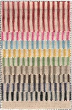 Our Products - Fabrics - Ticking Woven Stripes James Thompson, Ticking Stripe, Ticks, Lining Fabric, Southern Style, Red Stripes, Color Show, Weaving, Textiles