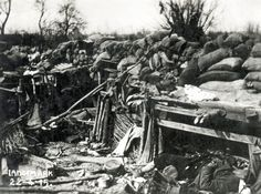All sizes | Langemark (sic) 22.4.15, after the first German gas attack of the war | Flickr - Photo Sharing!