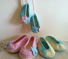 adorable Ballet Slippers pattern