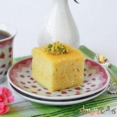 Prajitura Revani Prajitura insiropata cu gris Mama ne făcea des această prăjitură când eram copii. Se pregăteşte uşor, din ingrediente la îndemână...