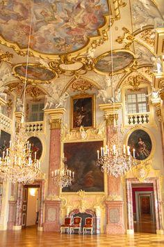 Inside Rastatt Schloss