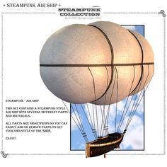 SteamPunk - AirShip