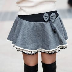Cute layer skirt