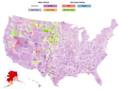 Interactive: How Americans Get to Work