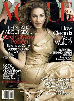 SJP covers Vogue US June 2008