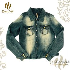 Linda camisa jeans da Base Café! =)