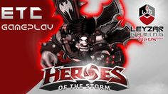 Heroes of the Storm (Gameplay) - E.T.C. Rock God Guide - MooTallica Buil...