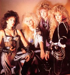Vixen, one of my favorite glam metal bands! Fille Heavy Metal, Chica Heavy Metal, Heavy Metal Girl, Heavy Rock, Rock Chic, Glam Rock, Rock Style, Glam Metal, Heavy Metal Bands