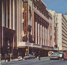 The Colosseum Theatre, Johannesburg (via www.cinemasouvenirs.net) Johannesburg City, Cinema Theatre, Its A Wonderful Life, The Good Old Days, Back In The Day, South Africa, The Past, Scenery, Street View