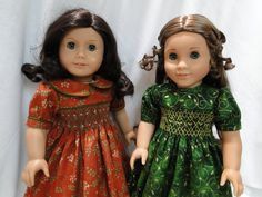 Reserved listing via Etsy.  Two more delightful smocked dresses from Cyria…