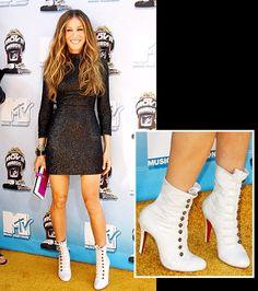 Sarah Jessica Parker's Fabulous Footwear! Christian Louboutin for L'Wren Scott