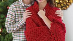 Crochet Holiday Cables Throw Pattern | The Crochet Crowd Crochet Throw Pattern, Knit Crochet, Crochet Crowd, Food Crafts, Arm Warmers, Things To Think About, Free Pattern, Stitch, Knitting