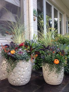 835 Best Halloween Fall Planters Images In 2019 Fall Planters